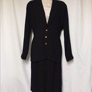 Vintage Tahari Dress Suit
